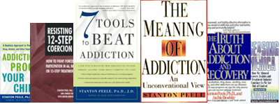Stanton Peele's books available on Amazon