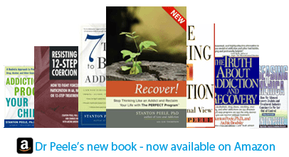 Stanton Peele's books available on Amazon