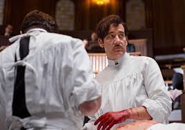 Clive Owen in The Knick who has a drug addiction